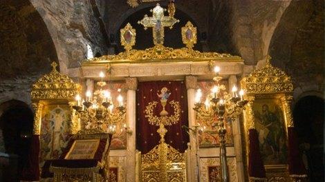 Οι Άγιοι Οσιομάρτυρες οι εν τη μονή Νταού Πεντέλης μαρτυρήσαντες θαυματουργούν