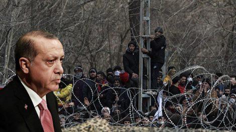 Die Welt: Έτοιμος για νέο κύμα μεταναστών ο Ερντογάν