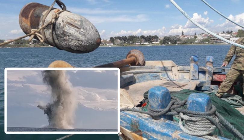 Εξουδετέρωση Νάρκης από Ομάδα της Διοίκησης Υποβρυχίων Καταστροφών