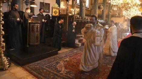 Κυριακή των Αγίων 318 Πατέρων της Α' Οικουμενικής Συνόδου στο Οικουμενικό Πατριαρχείο