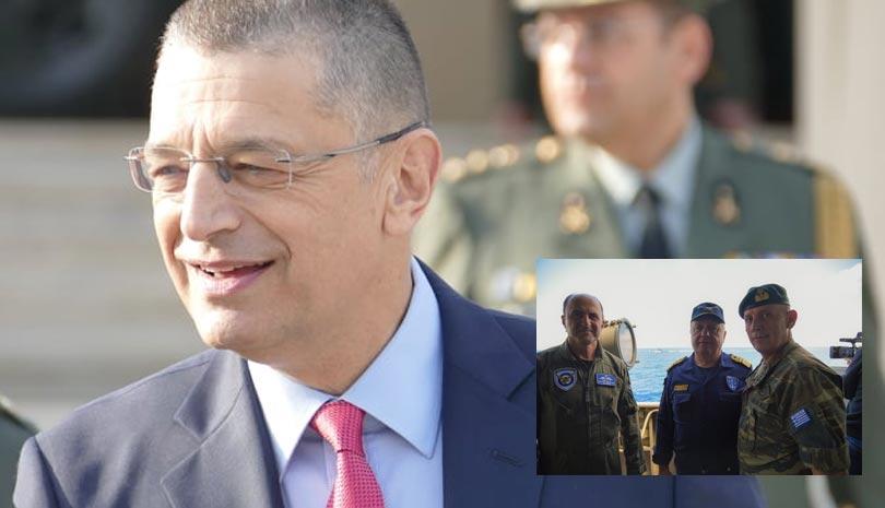 Αλκιβιάδης Στεφανής: Δεν φοβόμαστε τίποτα - Ισχυρότατο μήνυμα αποτροπής από τις ένοπλες δυνάμεις