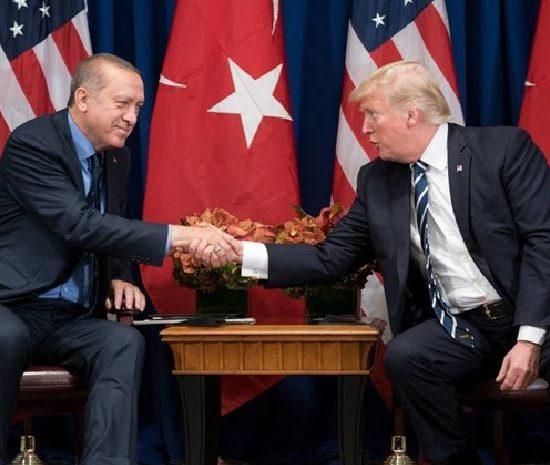 Η ανεξήγητα θερμή σχέση ανάμεσα σε Τραμπ & Ερντογάν