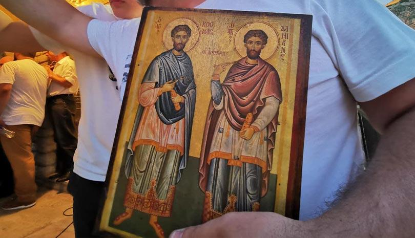 Ναύπλιο: Γιορτάζει το εκκλησάκι των Αγίων Αναργύρων στην ιστορική Ακροναυπλία | ΕΚΚΛΗΣΙΑ | Ορθοδοξία | orthodoxiaonline | Ναύπλιο |  1 Ιουλίου |  ΕΚΚΛΗΣΙΑ | Ορθοδοξία | orthodoxiaonline