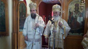Ο Καλαβρύτων Ιερώνυμος κάνει τα πρώτα του Εγκαίνια Ιερού Ναού