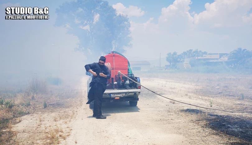 Πυρκαγιά στην Αργολίδα: Για άλλη μια φορά ρίχτηκε στις φλόγες ο αρχιπυροσβέστης και ιερέας π. Ιωάννης Μητροσύλης | orthodoxia.online | πυρκαγιά | αργολιδα | Ελλάδα | orthodoxia.online