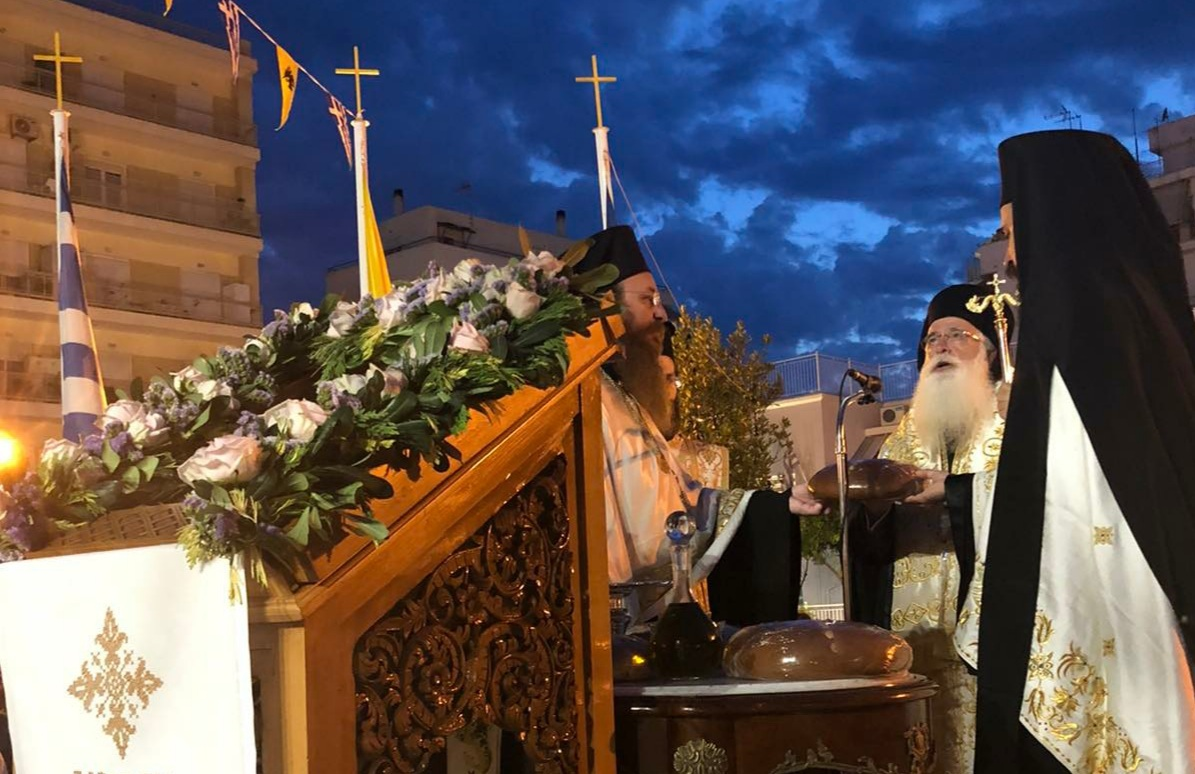 Υποδοχή Ιερών Λειψάνων Αγίου Λουκά του Ιατρού & Εορτή Μεταμορφώσεως του Κυρίου στο Βόλο | ΕΚΚΛΗΣΙΑ | Ορθοδοξία | orthodoxia.online | Υποδοχή Ιερών Λειψάνων |  Αγίου Λουκά του Ιατρού |  ΕΚΚΛΗΣΙΑ | Ορθοδοξία | orthodoxia.online