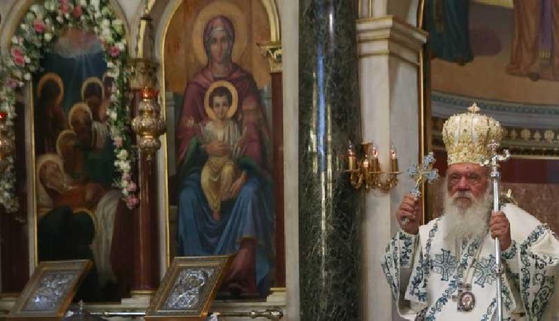 Αρχιεπίσκοπος Ιερώνυμος : Όταν η Παναγία κυριαρχεί μέσα μας τότε μας ενισχύει