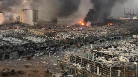Έκρηξη στο Λίβανο : Η πρώτη αντίδραση της Μόσχας - Τι λένε οι ΗΠΑ