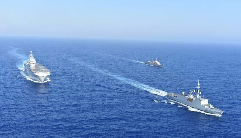 Ελλάδα & Γαλλία πραγματοποίησαν κοινή Ναυτική Άσκηση