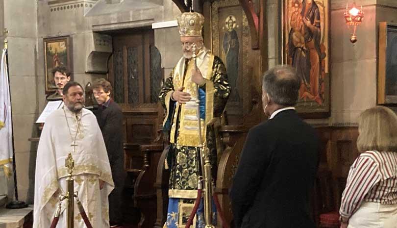 H Κοίμηση της Θεοτόκου στον Μητροπολιτικό Ι. Ναό Αγίου Στεφάνου Παρισίων ΦΩΤΟ