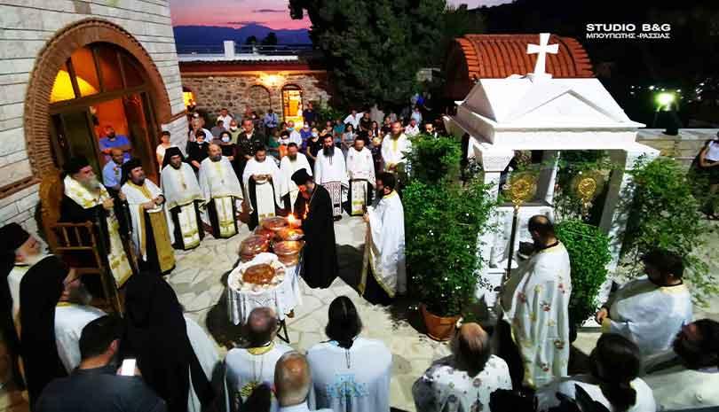 Η Αργολίδα τιμά τον προστάτη της Άγιο Θεοδόσιο το νέο