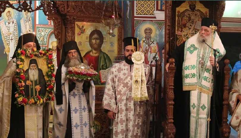 Η Πάρος εόρτασε τον Όσιο Αρσένιο