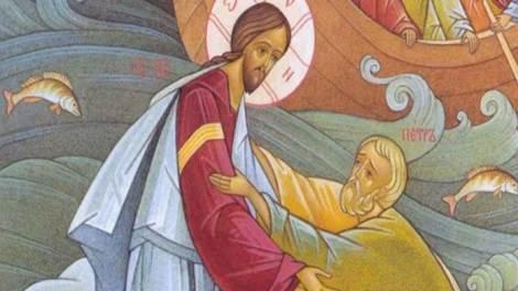 Κυριακή Θ' Ματθαίου - Άγιος Νικόλαος Βελιμίροβιτς : Ο Θεός είναι ταπεινός σαν αρνί. Μπροστά Του όμως τρέμουν ο ουρανός και η γη