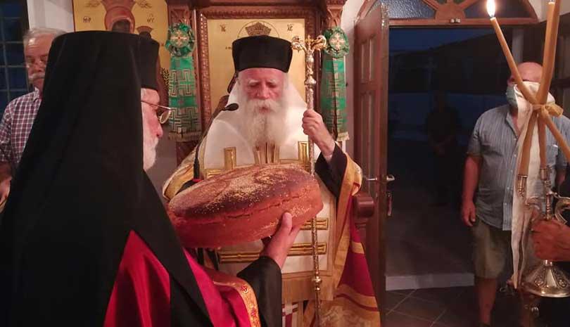 Ο Άγιος Μύρων εορτάστηκε στα Αντικύθηρα