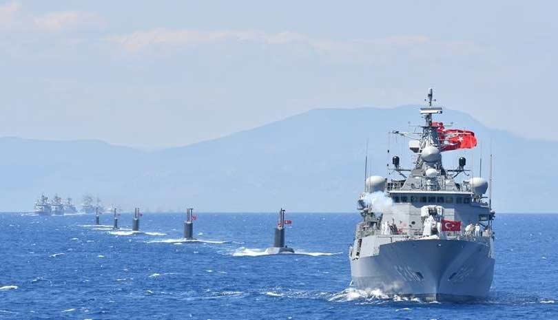 Σκηνικό έντασης με 14 πλοία γύρω από το Καστελόριζο στήνει η Άγκυρα - Ανησυχία Ε.Ε.