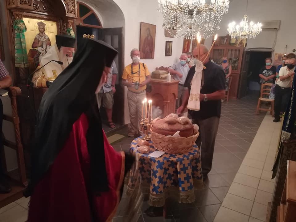 Ο Άγιος Μύρων εορτάστηκε στα Αντικύθηρα | ΕΚΚΛΗΣΙΑ | Ορθοδοξία | orthodoxia.online | Άγιος Μύρων | Άγιος Μύρων | ΕΚΚΛΗΣΙΑ | Ορθοδοξία | orthodoxia.online