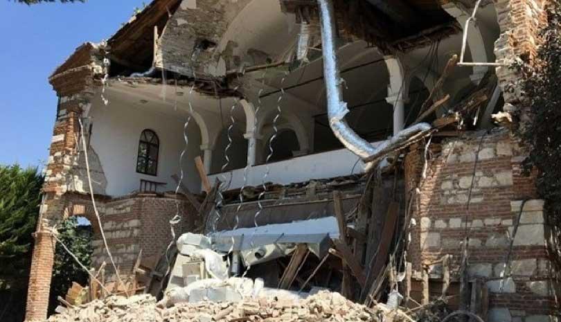 Τουρκία : Κατέρρευσε η εκκλησία του Αγίου Γεωργίου στην Προύσα καταγγέλλουν τα τουρκικά ΜΜΕ