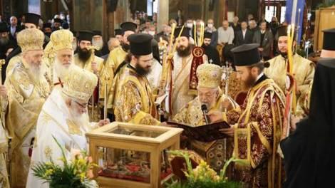 Εκταφή και Ανακομιδή Λειψάνων του αγίου Καλλινίκου Εδέσσης «Κοσμήματος της Εκκλησίας» (φωτογραφίες-video)
