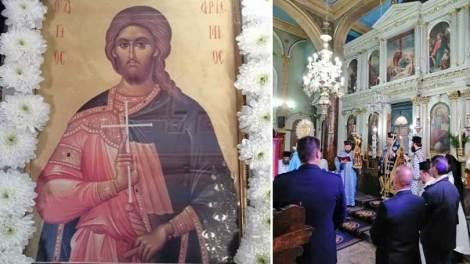 Η Εορτή του Αγίου Αρτεμίου στην Λευκάδα