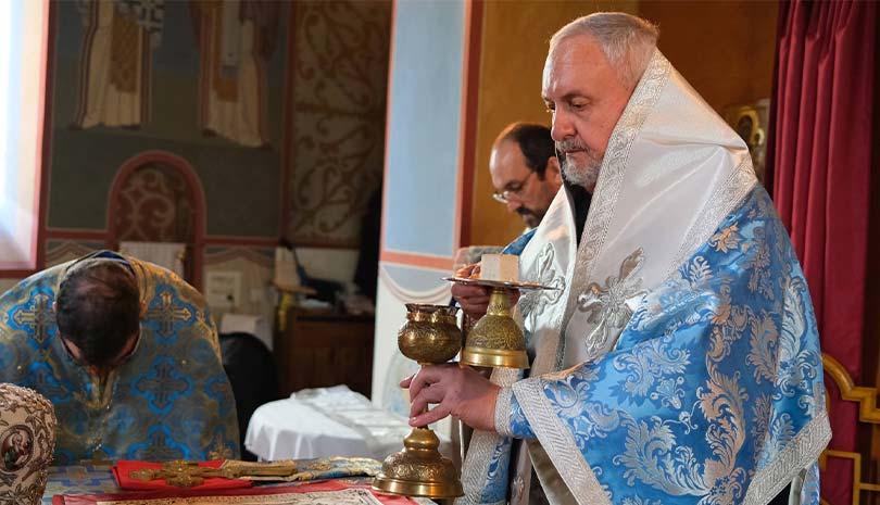 Η Πανήγυρις της Ι. Μονής Αγίας Σκέπης Μπουσί