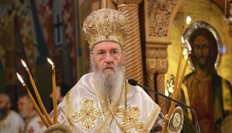 Ήγε τα ονομαστήριά του ο Μητροπολίτης Ναυπάκτου και Αγίου Βλασίου Ιερόθεος