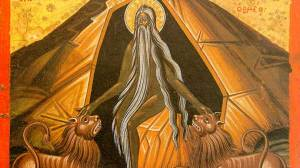 O Όσιος Μακάριος ο Ρωμαίος γιορτάζει σήμερα 23 Οκτωβρίου