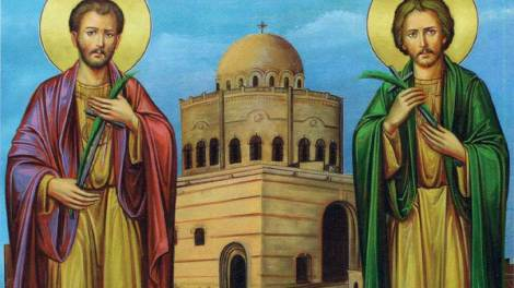 Οι Άγιοι Γαβριήλ και Κυρμιδώλης οι Νεομάρτυρες «οι εν Αιγύπτω» γιορτάζουν σήμερα 18 Οκτωβρίου
