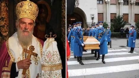 Η εξόδιος ακολουθία του Πατριάρχη Σερβίας Ειρηναίου