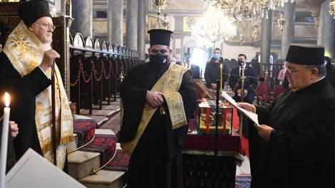 Οικουμενικό Πατριαρχείο: Η εορτή του Αγίου Ιωάννου του Χρυσοστόμου, Αρχιεπισκόπου Κωνσταντινουπόλεως