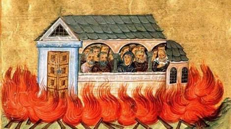 28 Δεκεμβρίου: Σήμερα γιορτάζουν οι Άγιοι Δισμύριοι μάρτυρες που κάηκαν στη Νικομήδεια