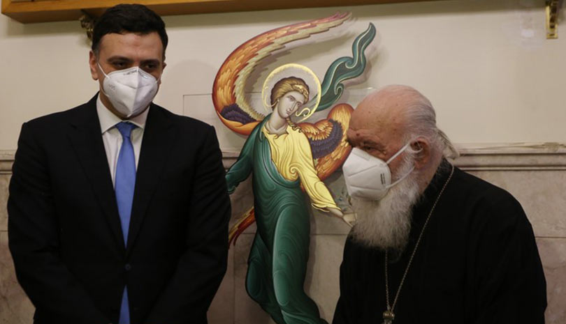 Αρχιεπίσκοπος: Η Εκκλησία θα είναι παρών την πρώτη μέρα του εμβολιασμού