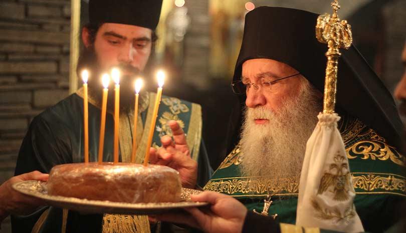 Εορτή Οσίου Σεραφείμ του Σάρωφ στο Τρίκορφο Φωκίδος