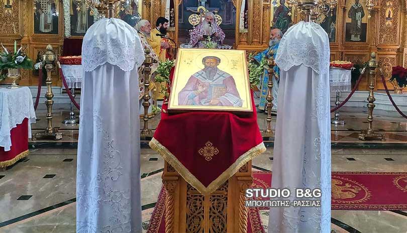 Μητροπολίτης Αργολίδος: Δοξολογία και Θεία Λειτουργία στο Άργος