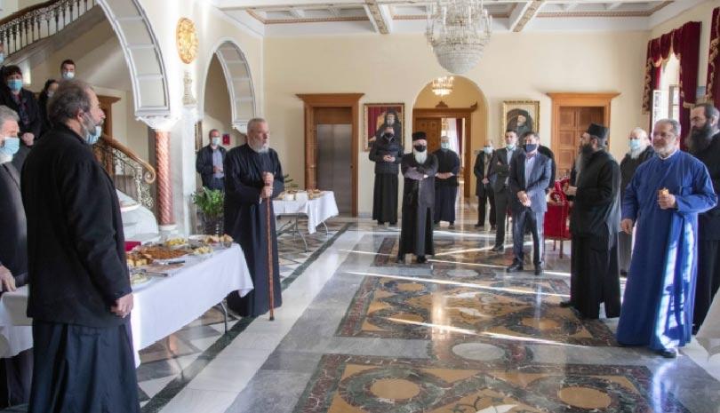 43 έτη Αρχιερατείας εορτάζει ο Αρχιεπίσκοπος Κύπρου κ.κ. Χρυσοστόμος Β΄