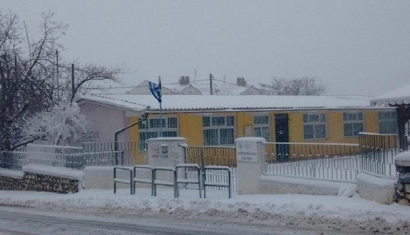 Κακοκαιρία Μήδεια: Που είναι κλειστά τα σχολεία σήμερα