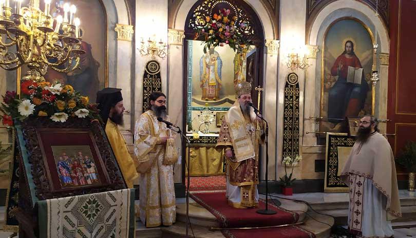 Ο Μητροπολίτης Πατρών κ.κ. Χρυσόστομος μίλησε για την θυσία των τριών ηρώων στα Ίμια, πριν ακριβώς 25 χρόνια