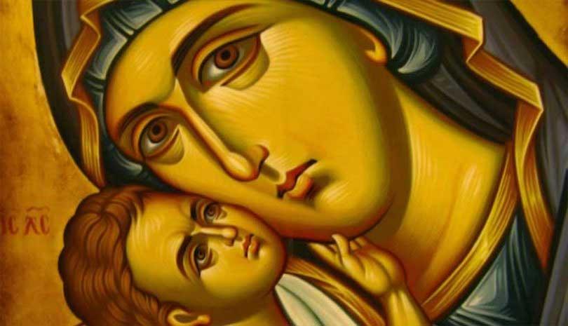 Η Παναγία και ο αγνός ιερέας