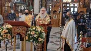 Ο Aκάθιστος ύμνος στην Ιερά Μητρόπολη Περιστερίου