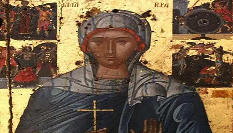 Τι έκανε ο διάβολος στην κρεμασμένη στο σταυρό Αγία Μαύρα