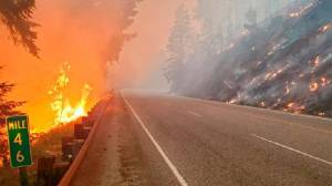 Εικόνες καταστροφής στο Όρεγκον