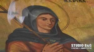 Παράκληση στην Αγία Μαρίνα