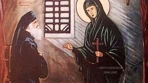 Η Αγία Ευφημία και ο Άγιος Παΐσιος