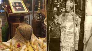Ι.Μ. Αγίας Αναστασίας Φαρμακολυτρίας : Μνημόσυνο πρώην Μητροπολίτου Ρόδου κυρού Αποστόλου Διμέλη