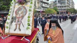 Εορτή Αγίου Δημητρίου 2021: Χωρίς πιστούς η λιτανεία στη Θεσσαλονίκη