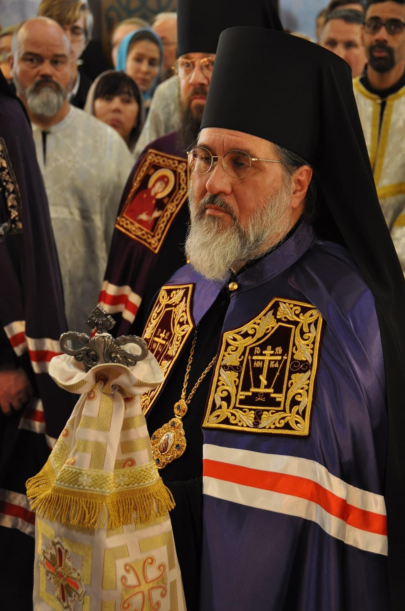 Mgr Alexandre portera le titre d'évêque de Vevey. Il est le second à porter ce titre après Mgr Ambroise, de bienheureuse mémoire, décédé en 2009 (© 2019 Alex Romash).