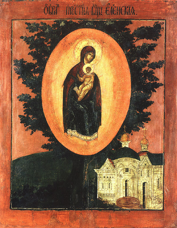 Icon of the Mother of God of Elets