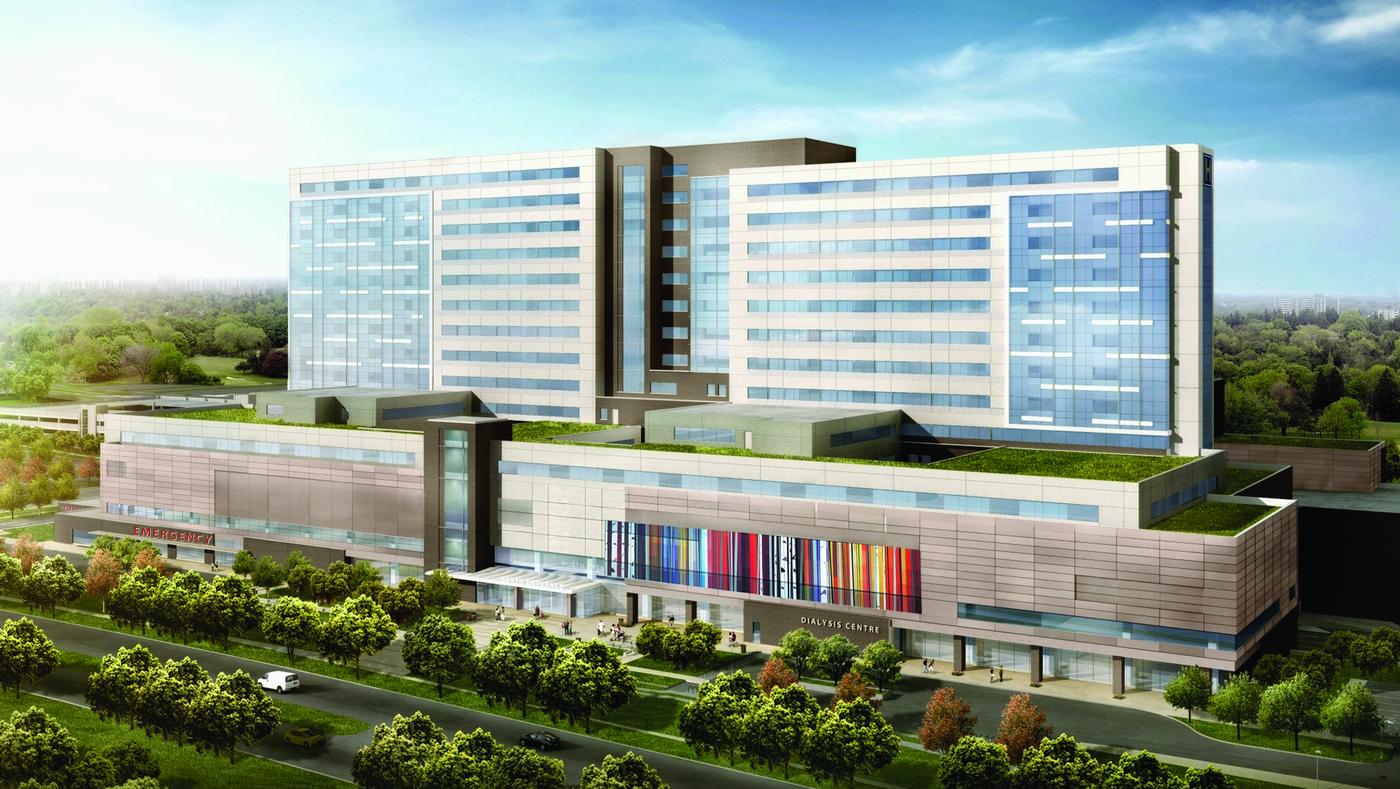 Humber-River-Hospital-Northwest-View