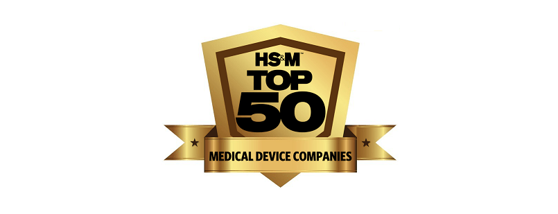 HS&M | Top 50 Medical Device Companies – 2017