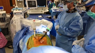 Photo of First Mazor X™ System Utilized in Mid-Atlantic for Advanced Spine Surgery Procedure