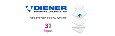 Photo of Diener Implants Announces Strategic Partnership with 3dpac